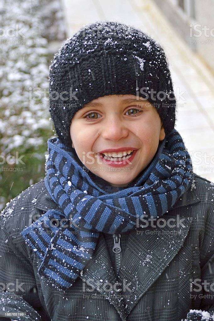 cute boy royalty-free stock photo