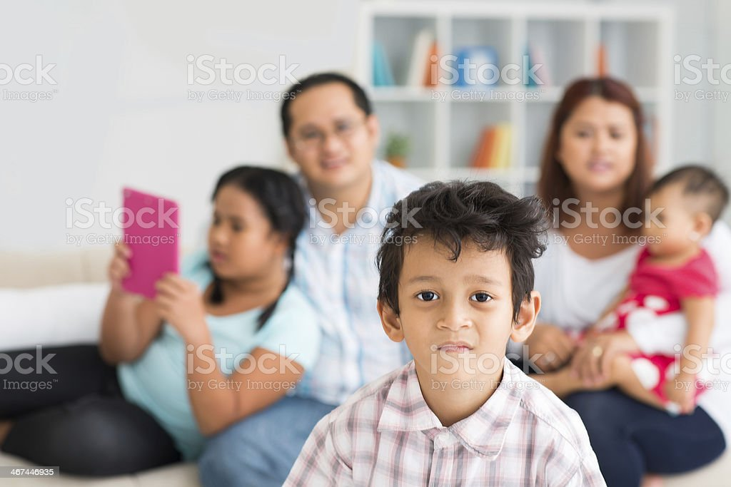 Cute boy royalty-free stock photo