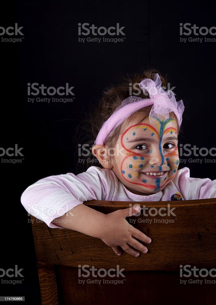 cute butterfly stock photo