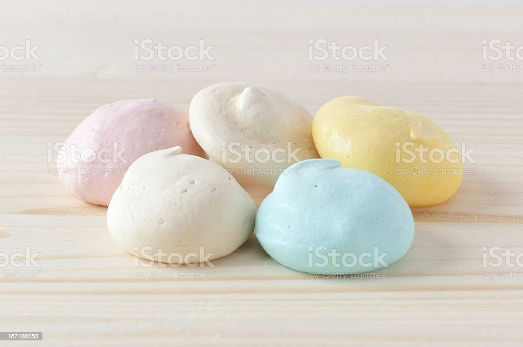 Cute Candy Meringue royalty-free stock photo