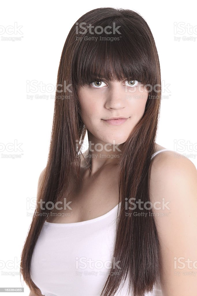 Cute Casual Female royalty-free stock photo