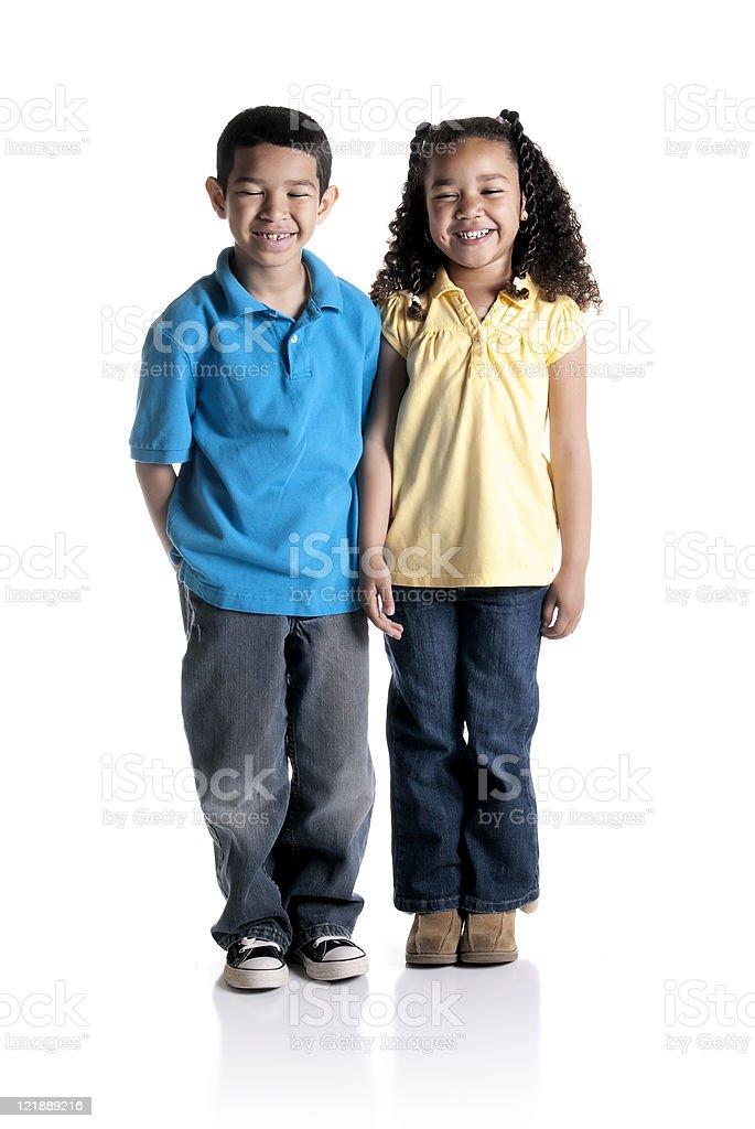 Cute Children royalty-free stock photo