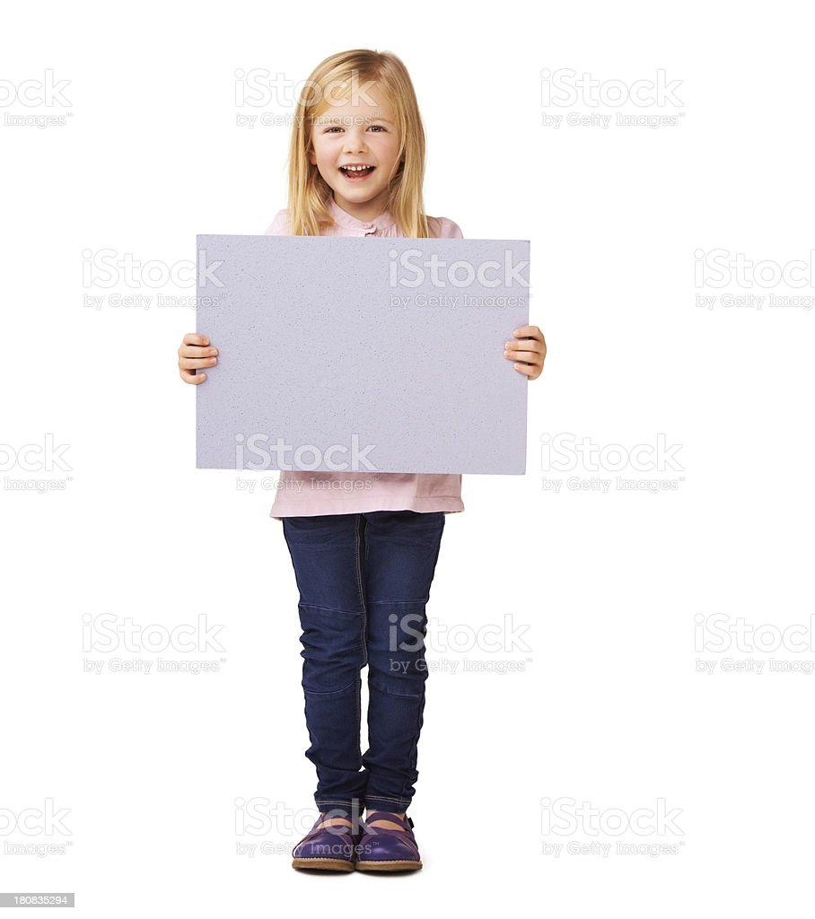 Cute copyspace royalty-free stock photo