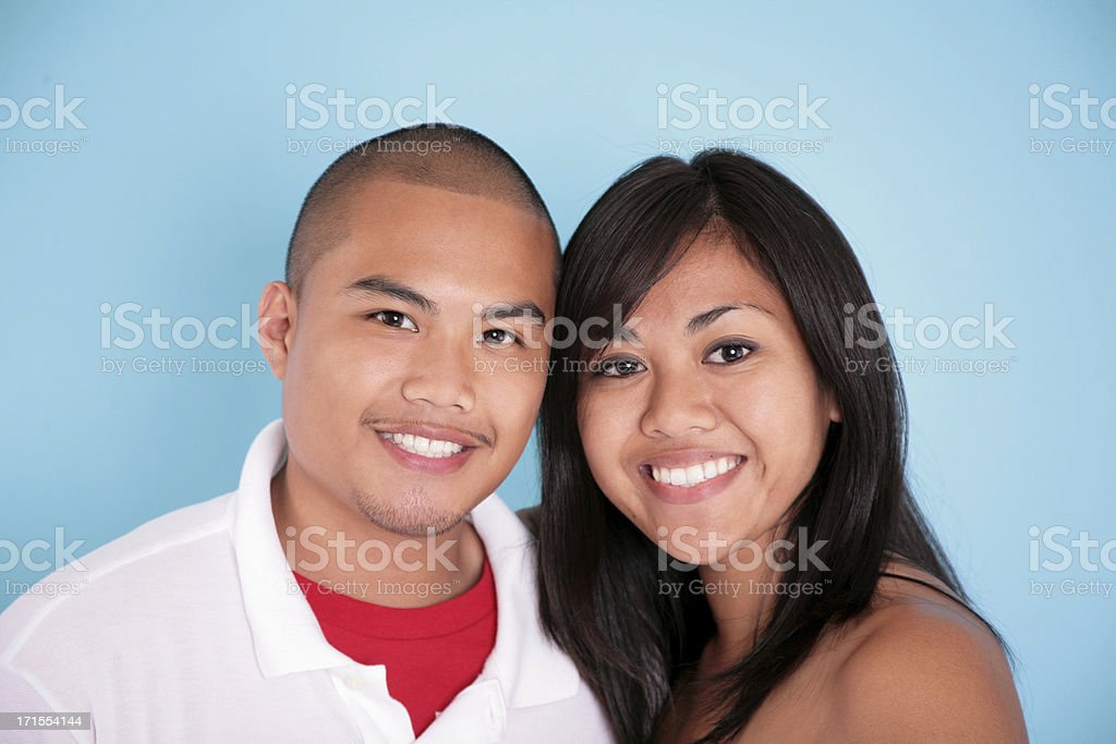 Cute Couple stock photo