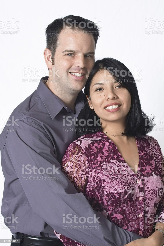 Cute Couple royalty-free stock photo