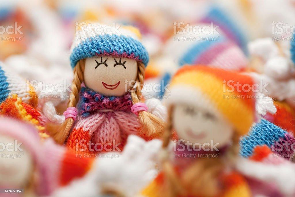 Cute Dolls stock photo