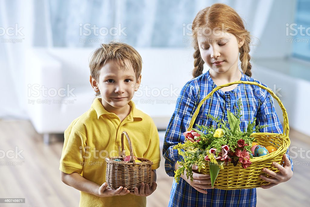 Cute Easter royalty-free stock photo