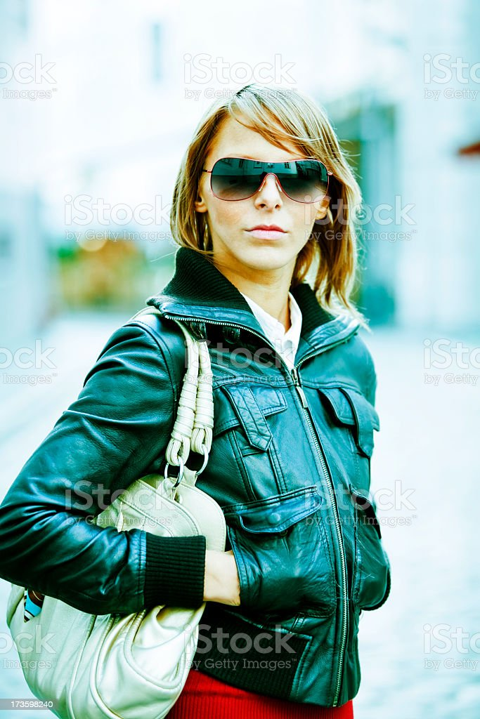 Cute Female royalty-free stock photo