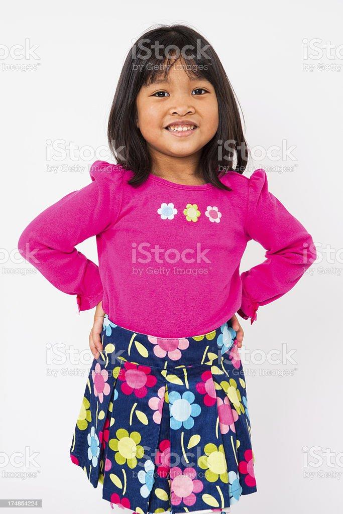 Cute Filipino Girl royalty-free stock photo