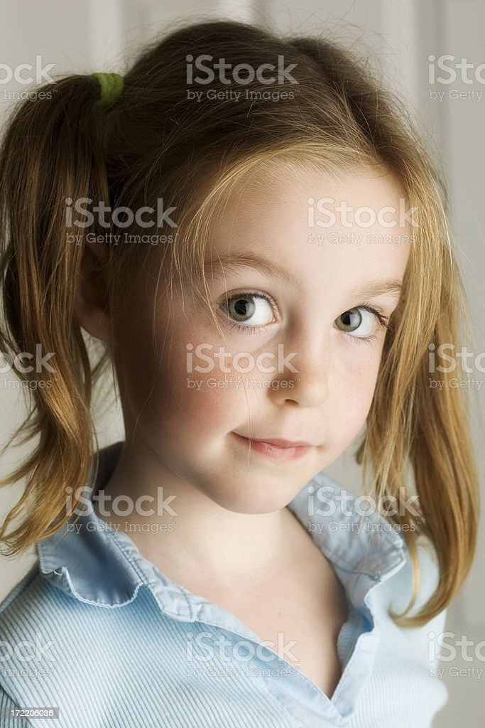 Cute Girl 2 royalty-free stock photo