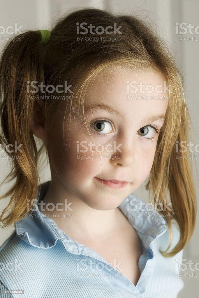 Cute Girl 2 stock photo