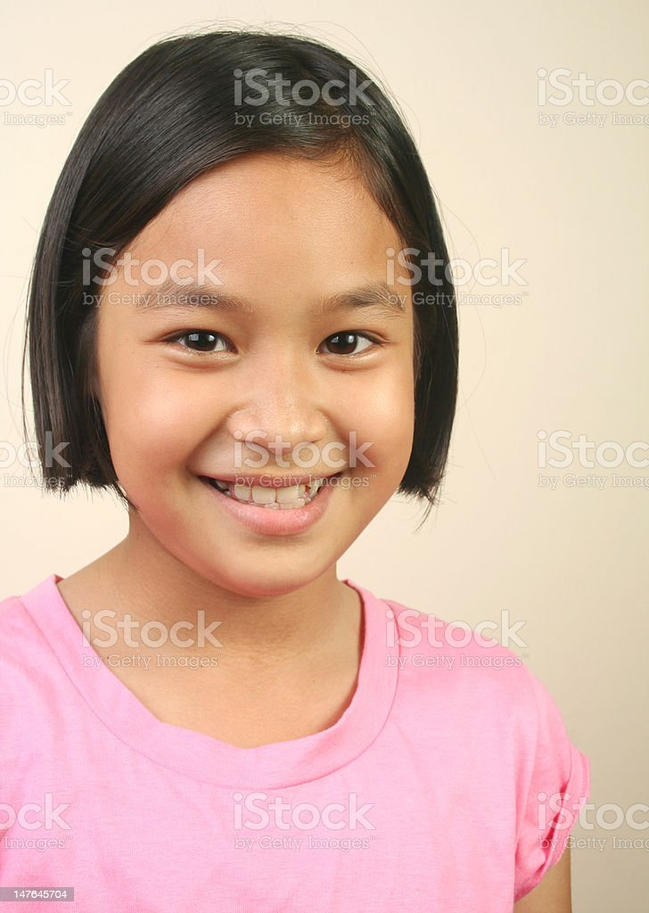 Süßes Mädchen (Serie Lizenzfreies stock-foto