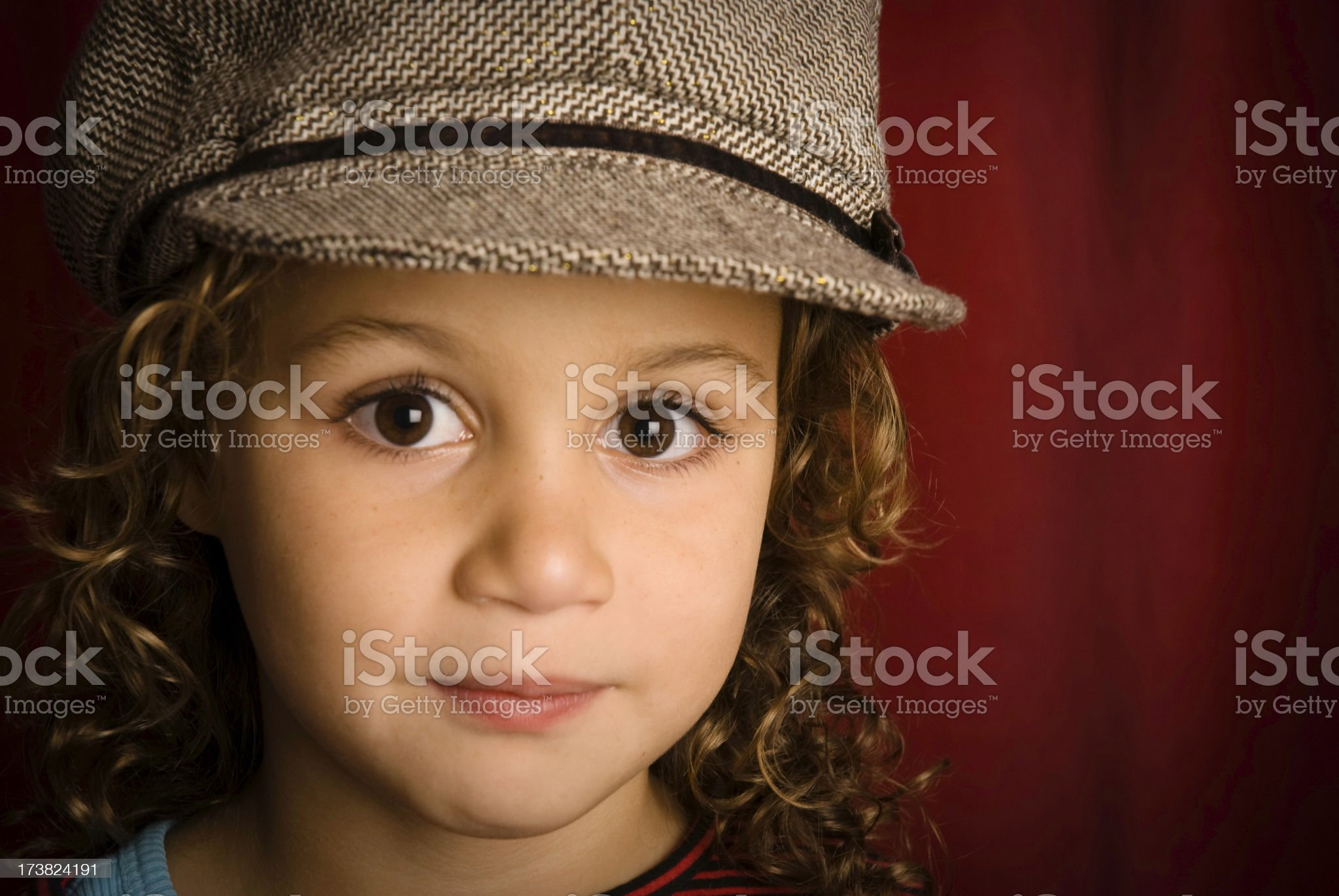 Cute girl royalty-free stock photo