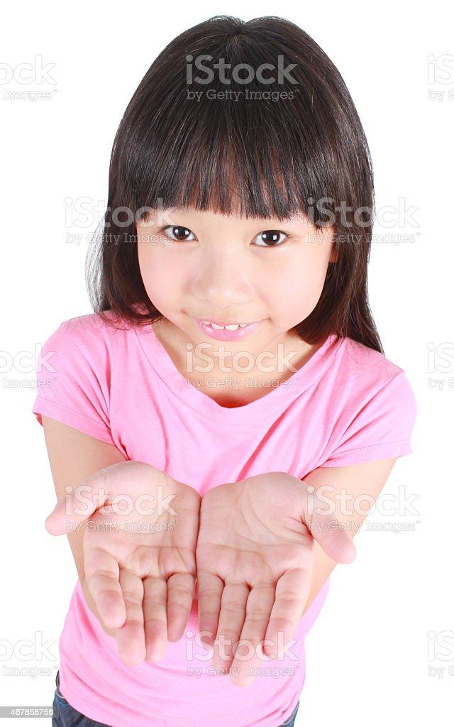 Süßes Mädchen Lizenzfreies stock-foto