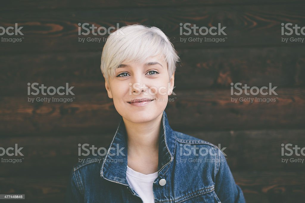 cute girl stock photo
