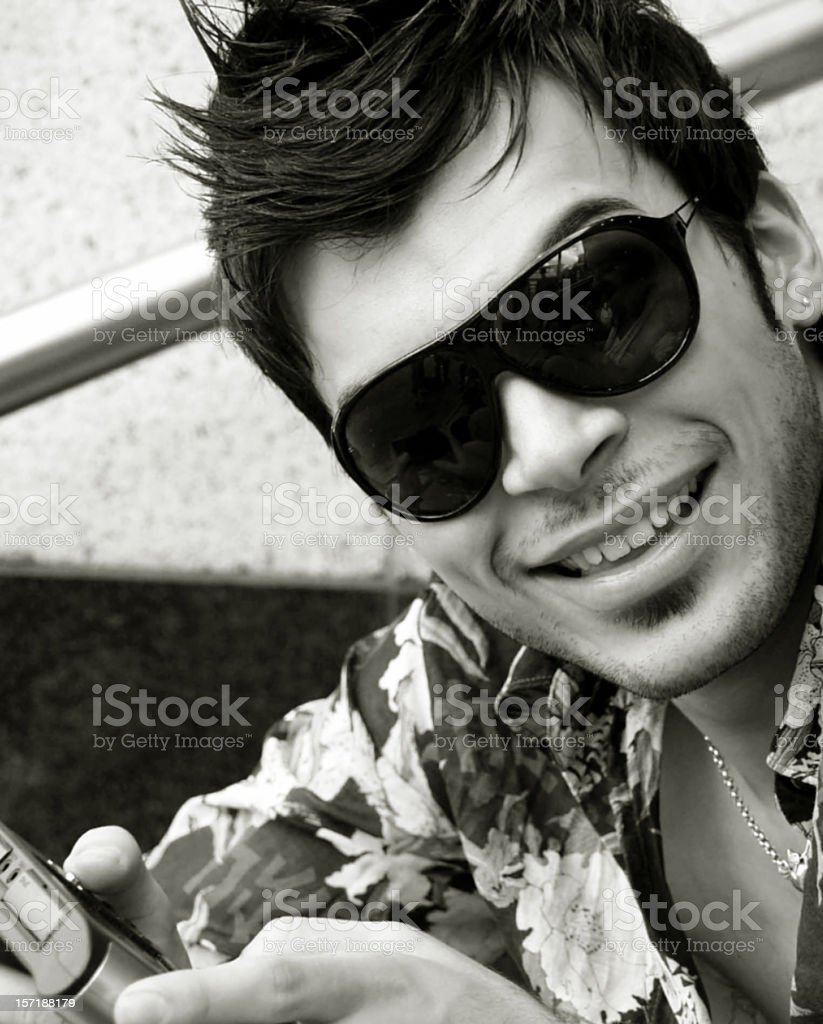 Cute Guy royalty-free stock photo