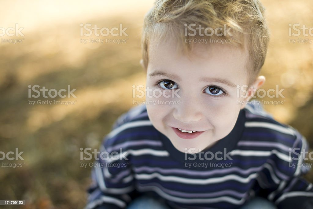 Cute happy boy royalty-free stock photo