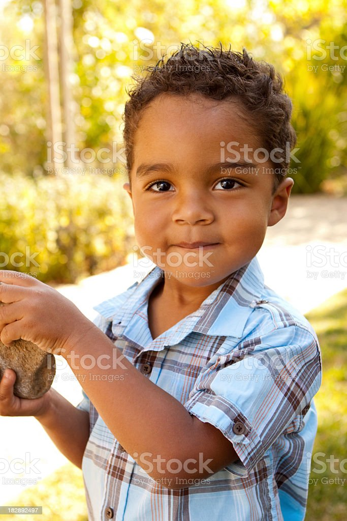 Cute Hispanic Kid royalty-free stock photo