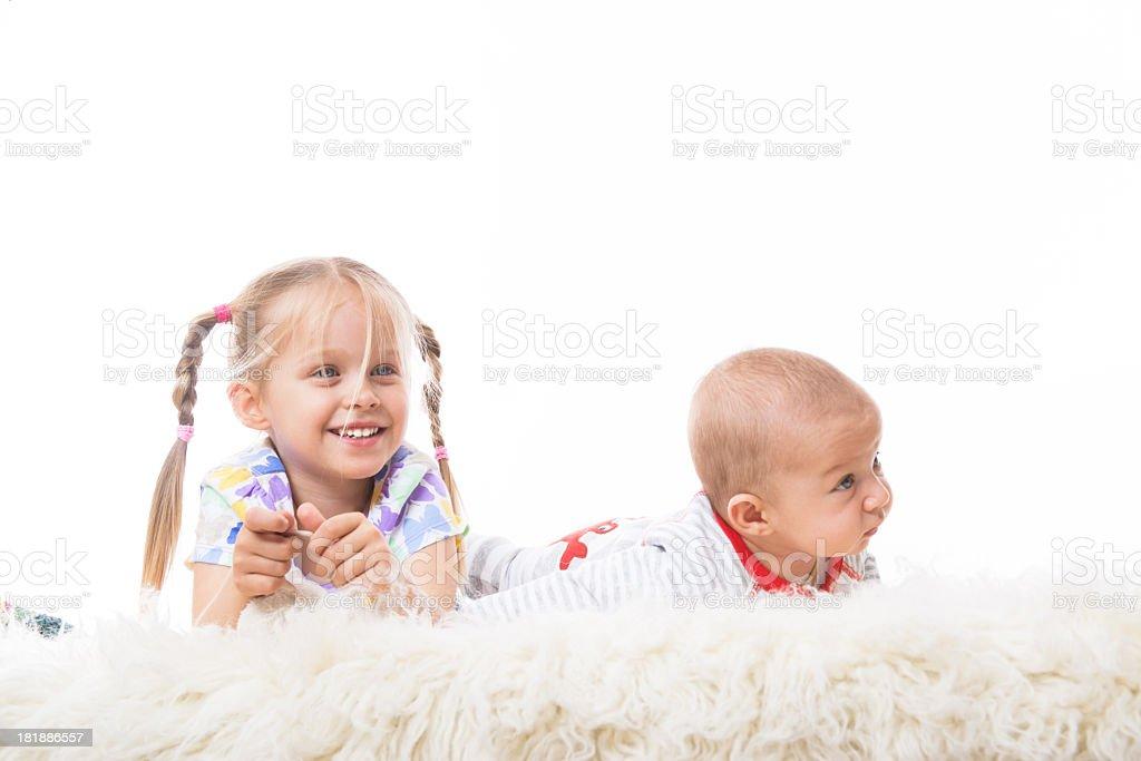 cute kids royalty-free stock photo