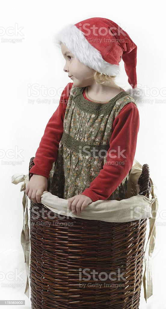 cute litlle gnome royalty-free stock photo