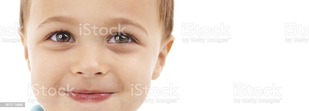 Cute little face royalty-free stock photo