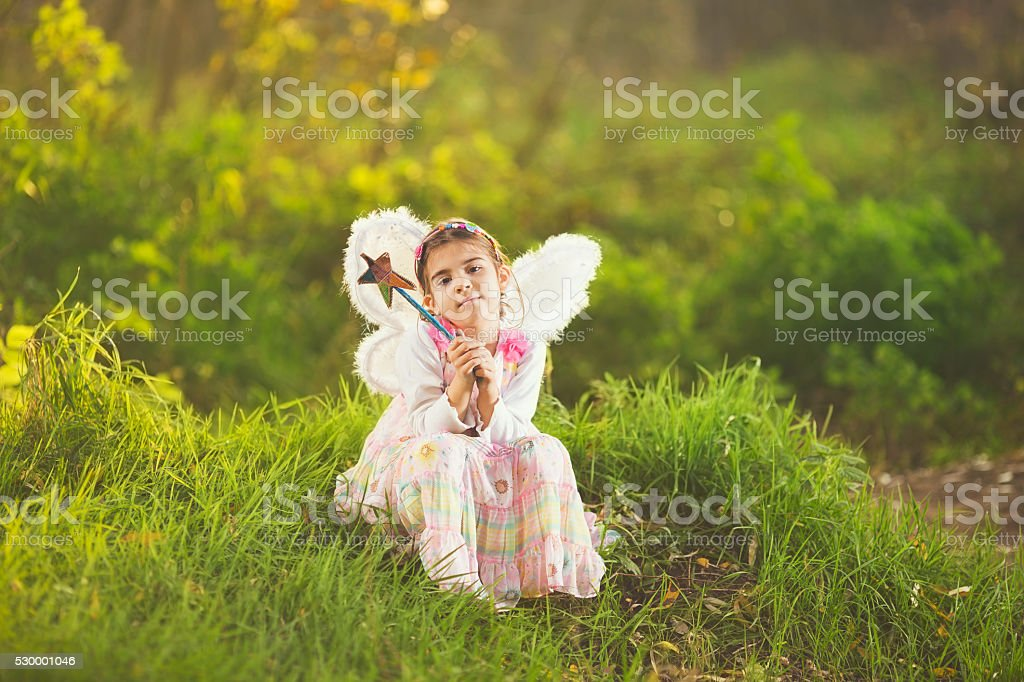 Cute Little Fairy stock photo