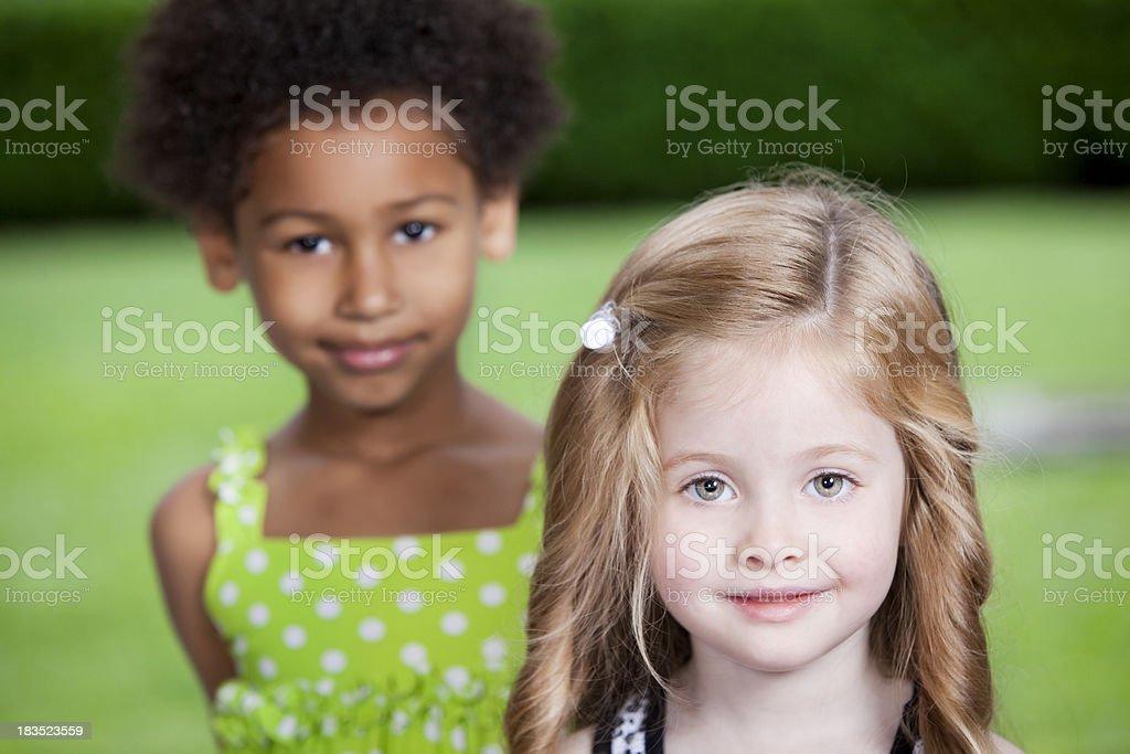 Cute Little Friends stock photo