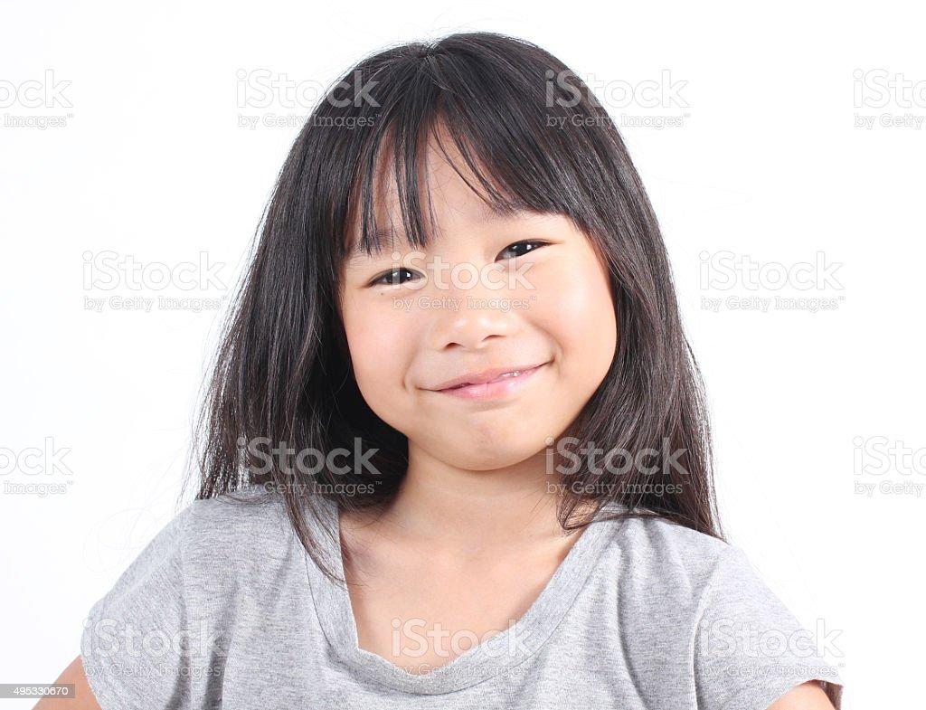 Niedliche kleine Mädchen Lizenzfreies stock-foto