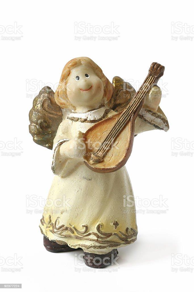 Cute musician stock photo