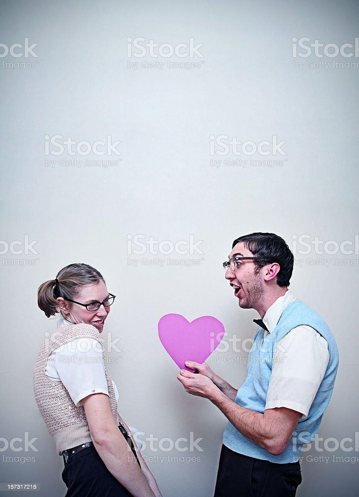 Dating a cute nerdy guy