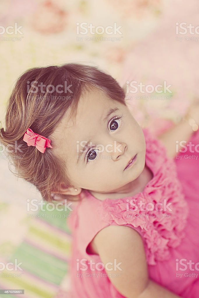 Cute One Year Old stock photo