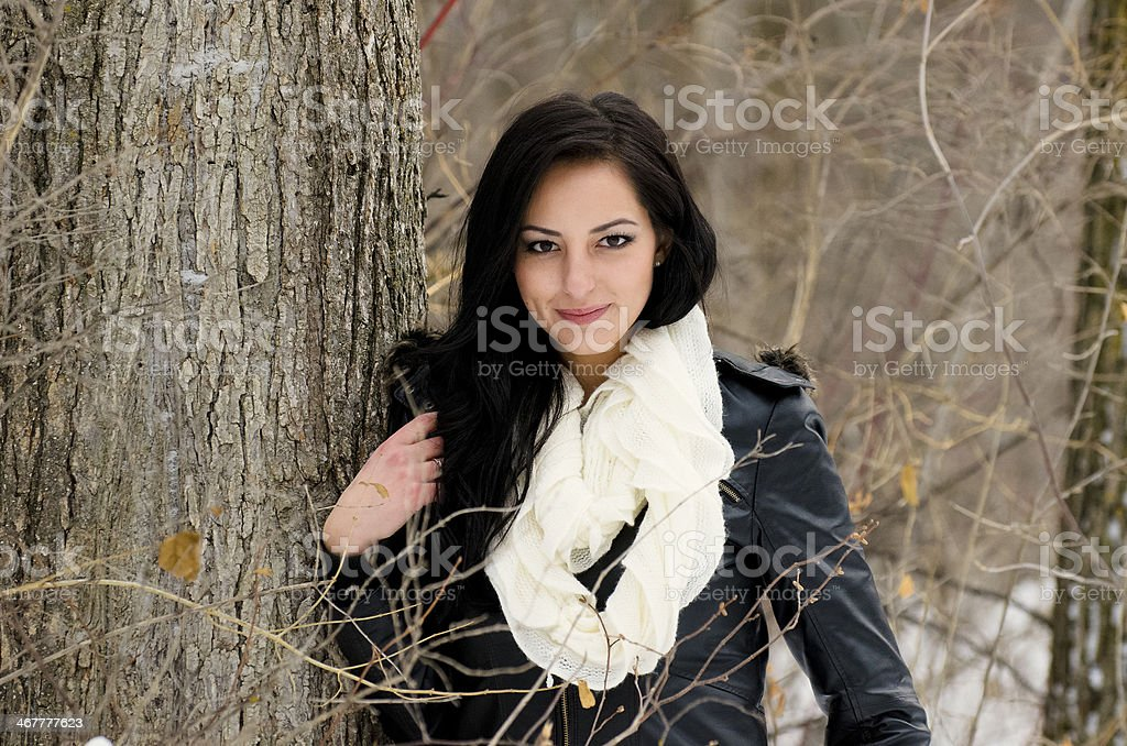 Cute Pose royalty-free stock photo