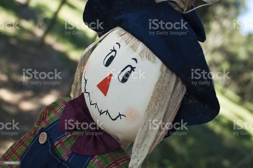 Cute Scarecrow royalty-free stock photo