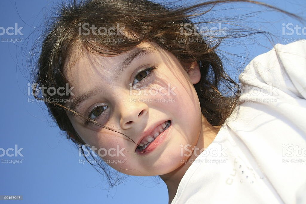 cute smile 5 royalty-free stock photo