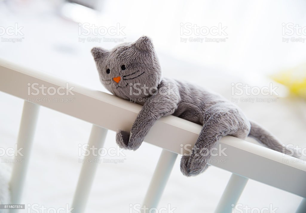 Cute Soft Baby Toys stock photo