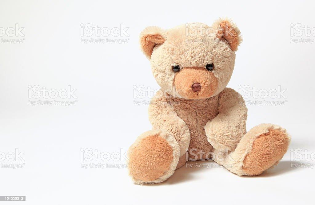 Cute teddy bear toy royalty-free stock photo