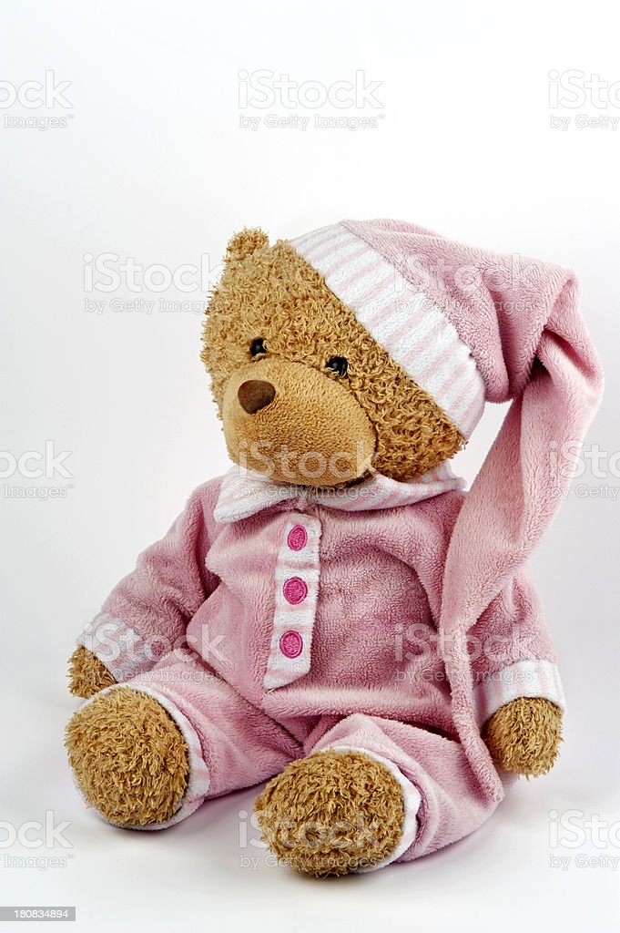 Cute teddy bear toy royalty-free stock photo