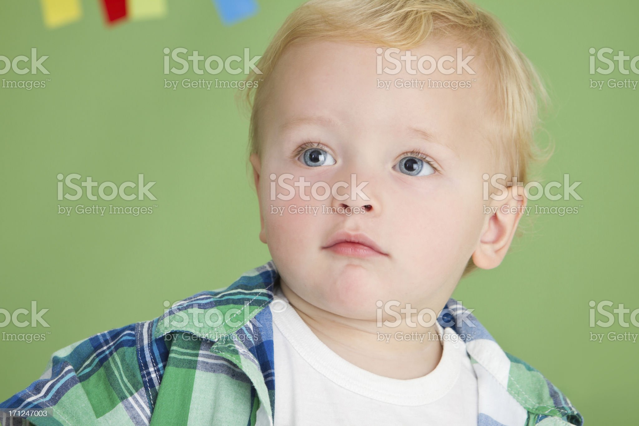 Cute toddler 's portrait royalty-free stock photo