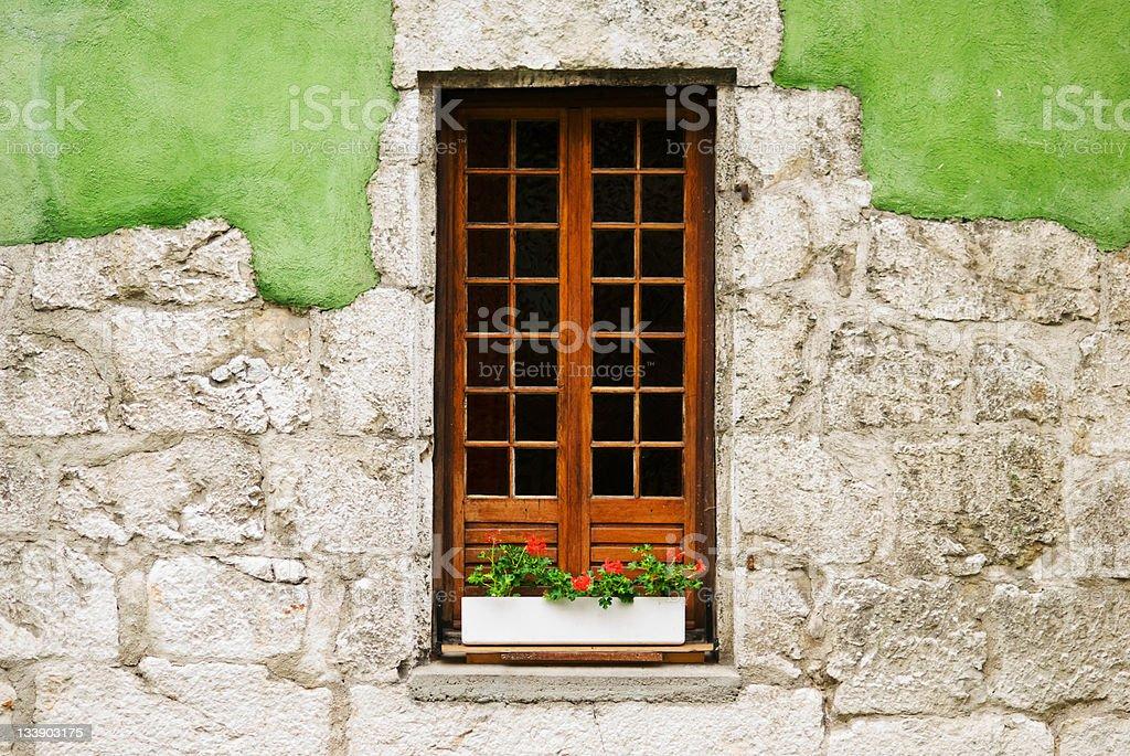 Cute window royalty-free stock photo