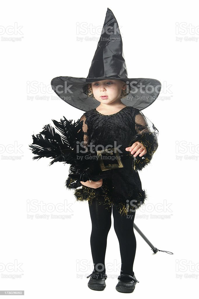 Cute Witch royalty-free stock photo