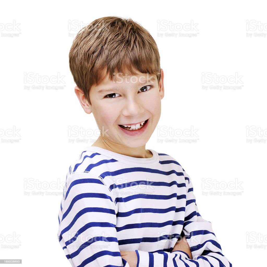 Cute Young Boy royalty-free stock photo