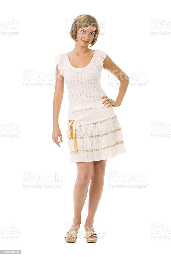 Cute young girl royalty-free stock photo
