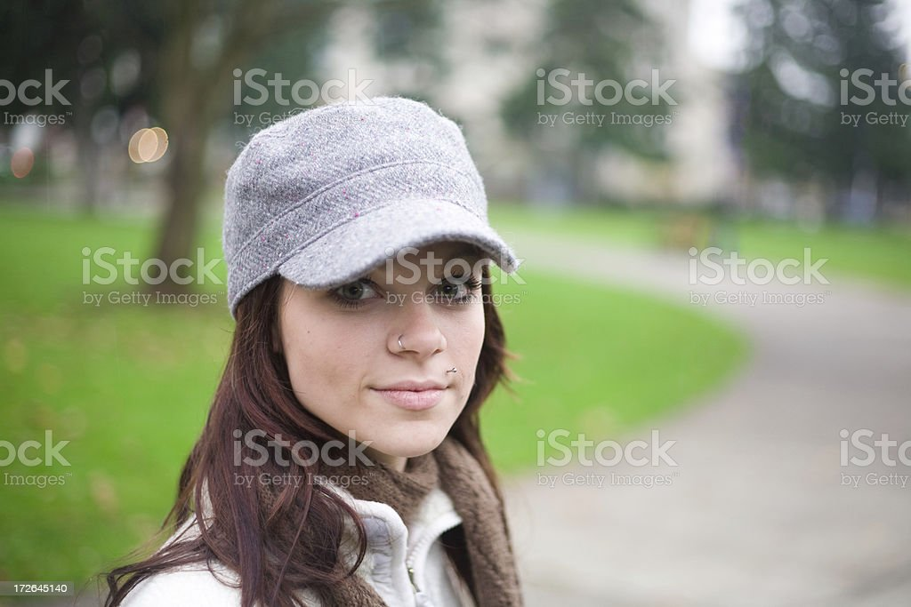 cute young girl portraits royalty-free stock photo