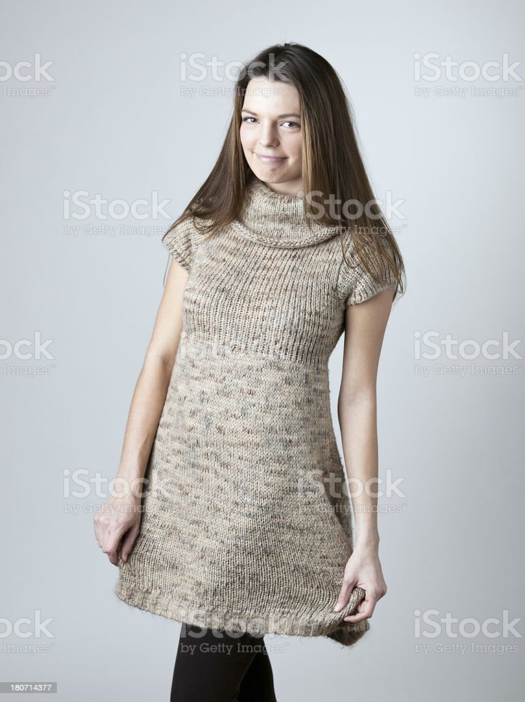 Cute Young Woman royalty-free stock photo