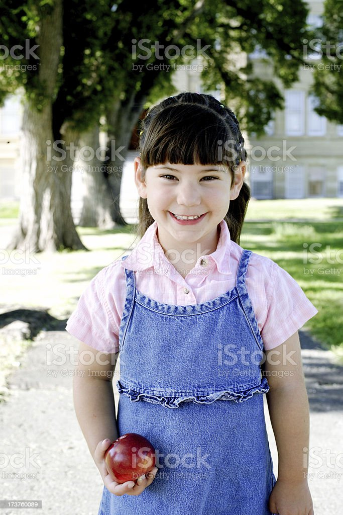 Cute youngster stock photo