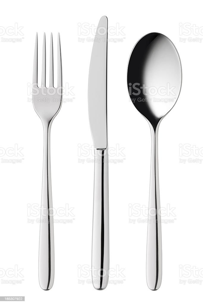 Cutlery royalty-free stock photo