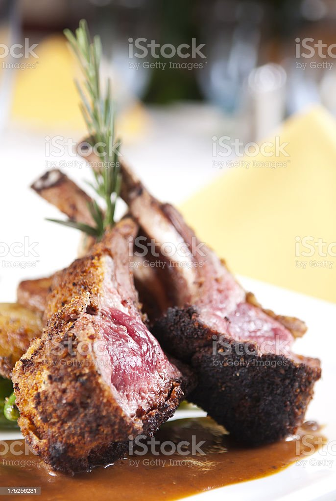 Cutlets Lamb stock photo