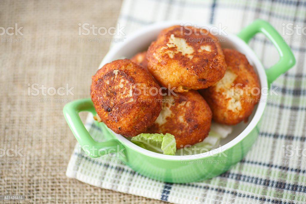 cutlets stock photo