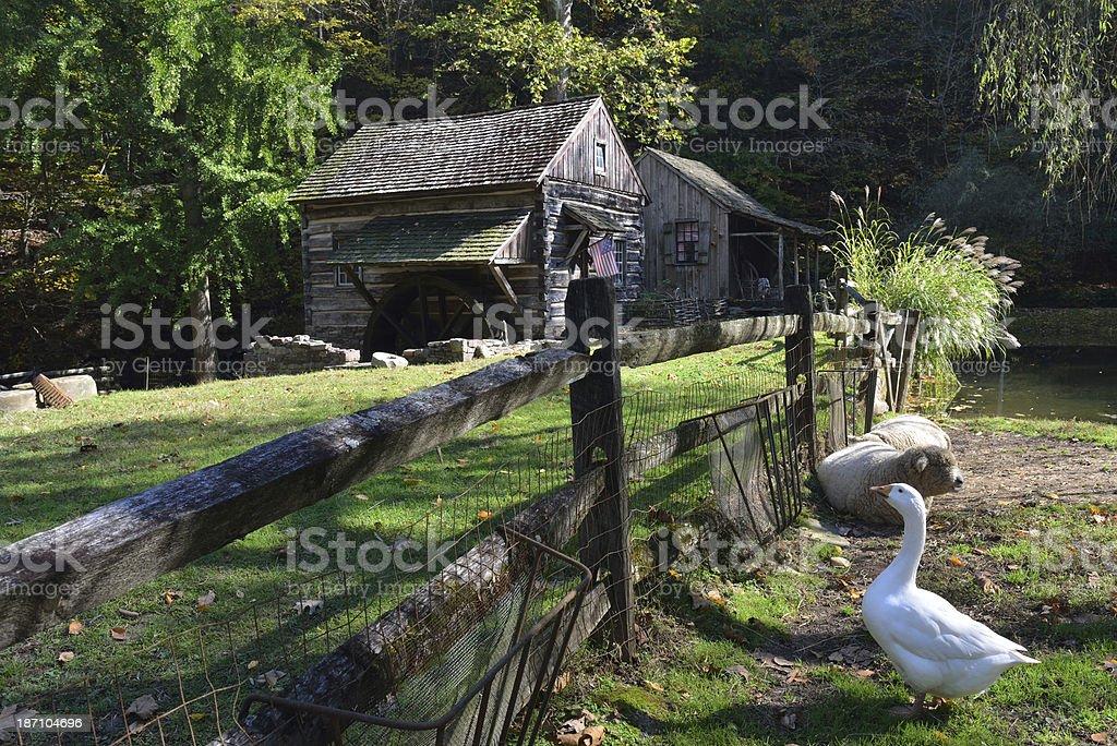 Cuttalossa Farm in Bucks County royalty-free stock photo