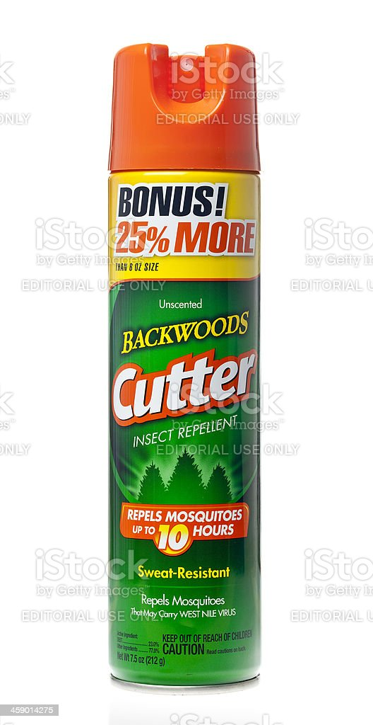 Cutter Inspect Repellent stock photo